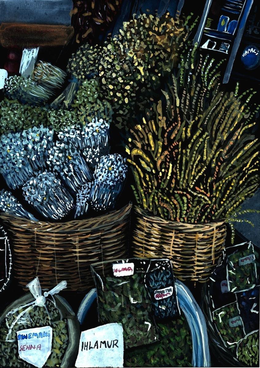 Herb Market Turkey
