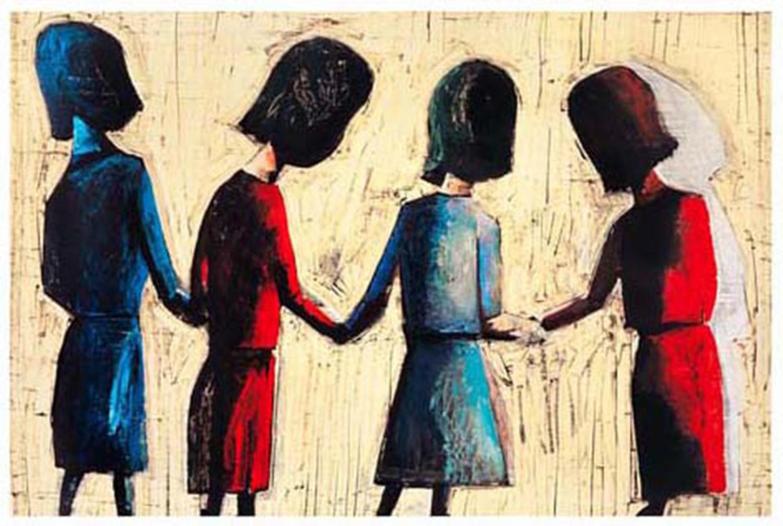 Four Schoolgirls