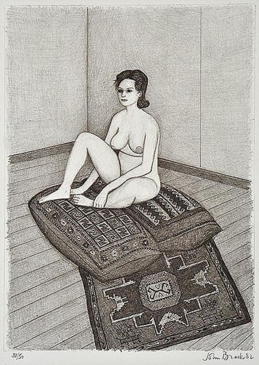 Nude on Persian Carpet