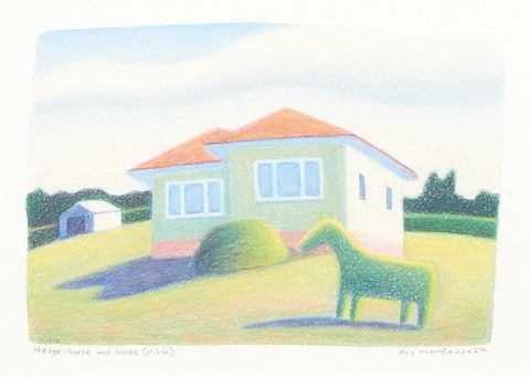 Hedge-Horse and House (N.S.W)