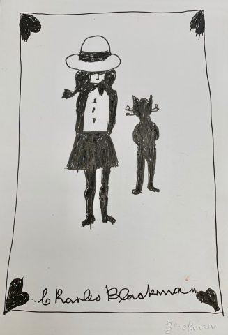 Schoolgirl and the Cat of Hearts
