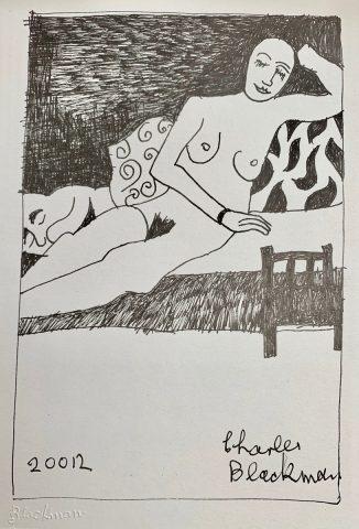 Nude on Settee