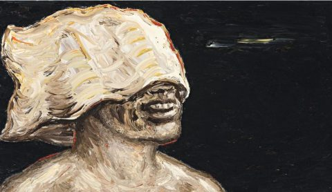 Painting (Head with Cloth Wrap)