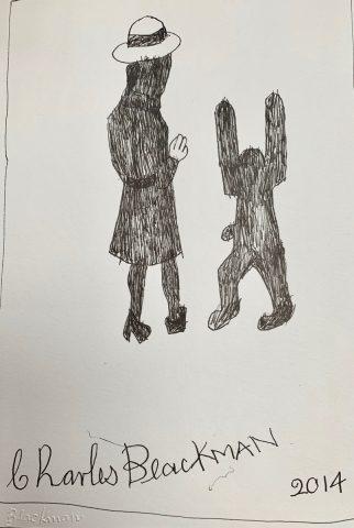 Schoolgirl and Rabbit