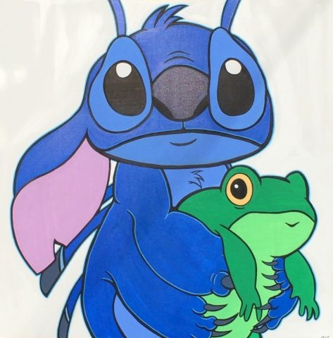 Hero (critter with frog)