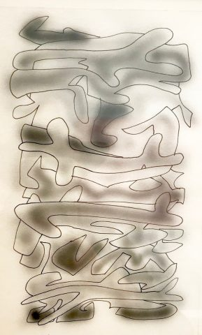 Study for White Painting #D