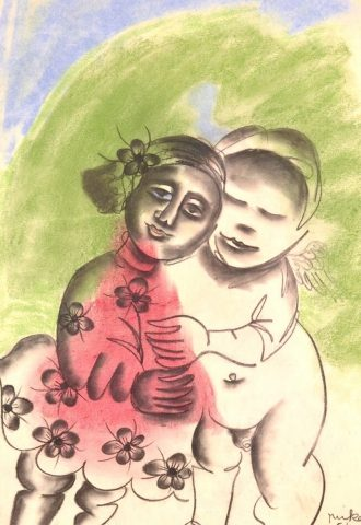 (The Angel's Embrace), 1961