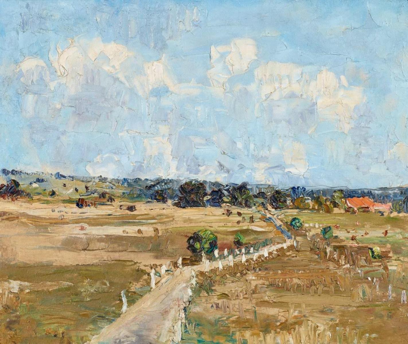 Rosebud Landscape, (1937-39)