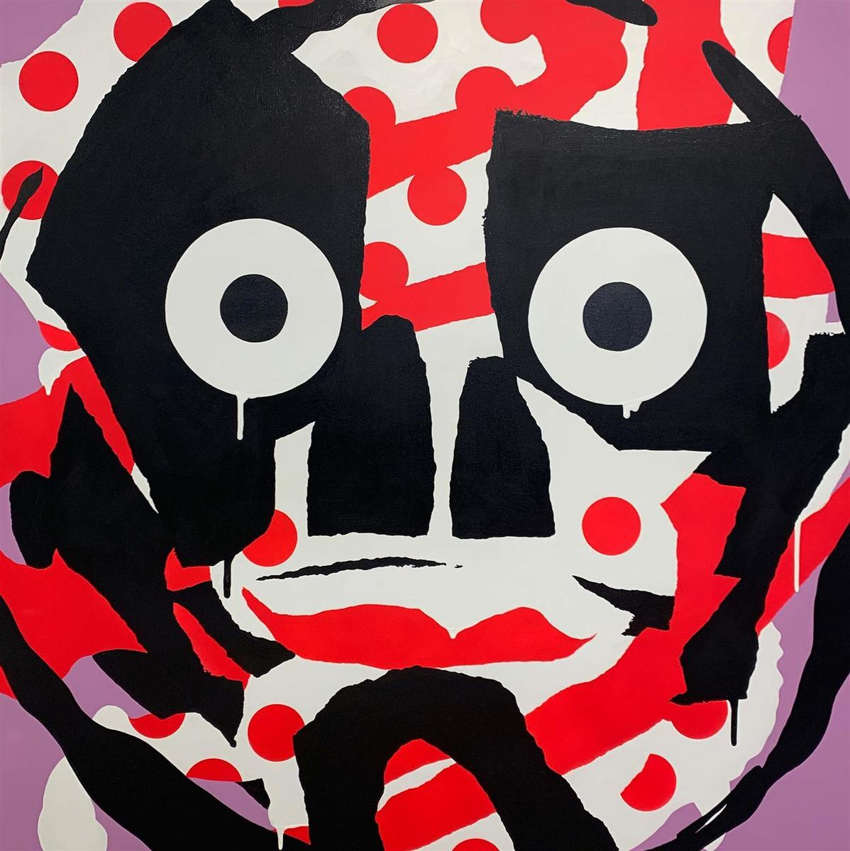 Red Spotted Mask, 2019