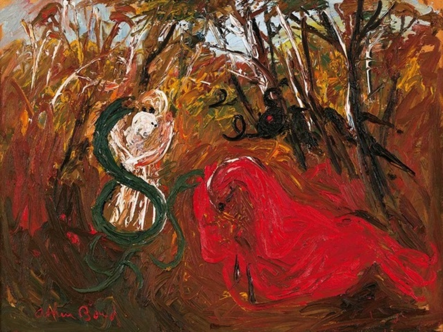 Prodigal Son in Bush, c. 1970