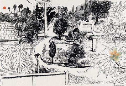 Linfield Gardens, 1978