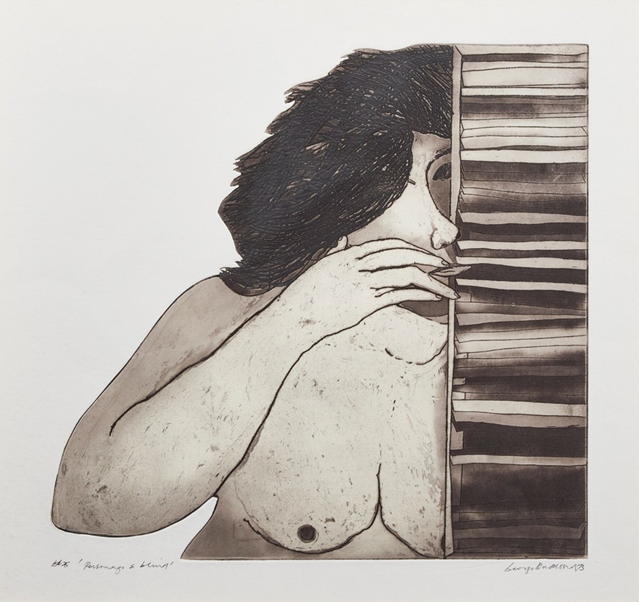 Personage and Blinds, 1973
